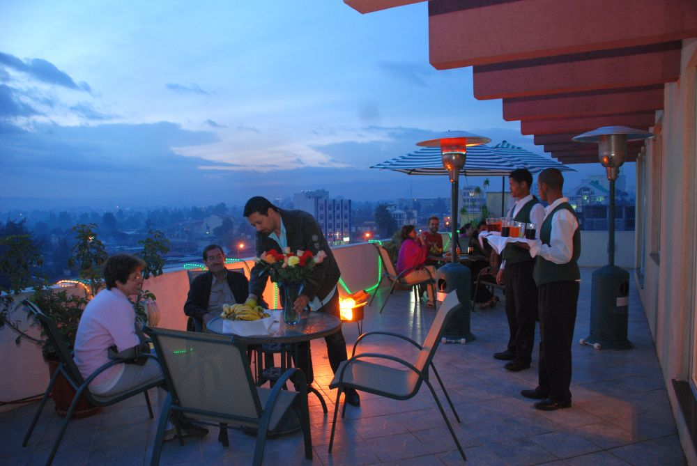Dining - Roof top - city view