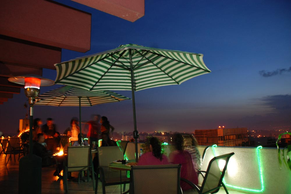 Dining - roof top