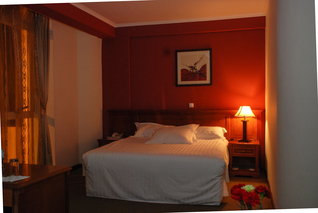 Rooms - Junior suite with queen size bed